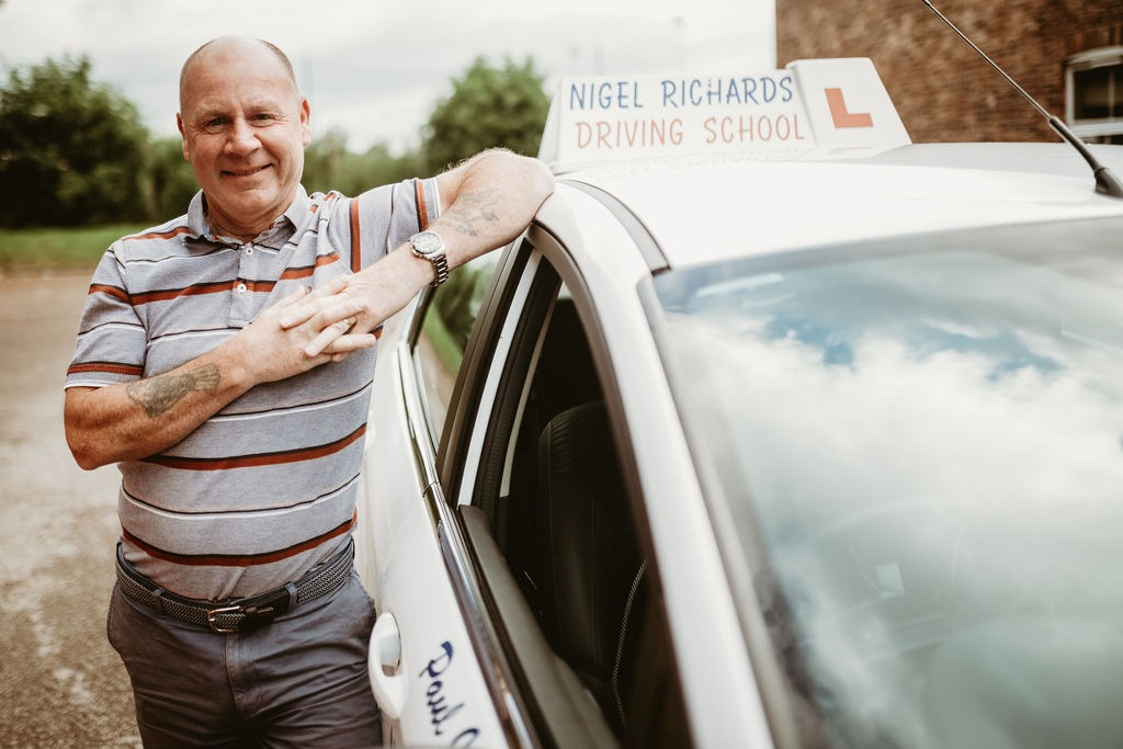 Driving Lessons in Chester with Nigel Richards Driving School