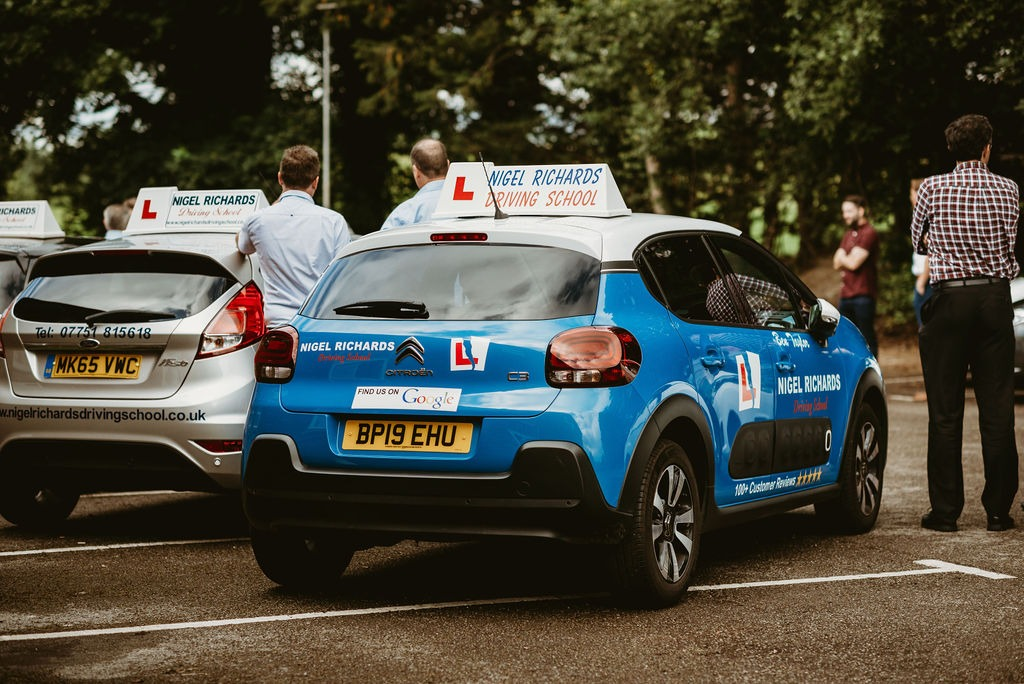 Driving Lessons in Wrexham area are covered by our 11 driving instructors seen here