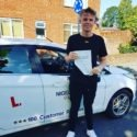 Dan Townley passed his driving test after taking driving lessons in Wrexham with NIgel Richards Driving School