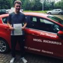 Driving Lessons on Wrexham with Jenny Thompson of Nigel Richards Driving School got Joseph through his test and he sent in this great reivew