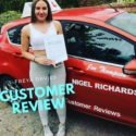 Driving Lessons Wrexham taken with Jenny Thompson of NIgel Richards Driving School