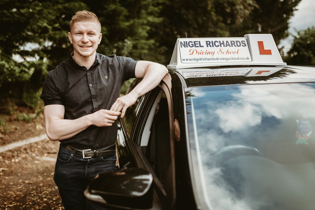 Driving Lessons in Wrexham with Jamie Pritchard of Nigel Richards Driving School