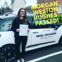 A recent driving test pass in Wrexham for NIgel Richards Driving School