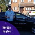 Morgan Hughes passed driving test in Wrexham with Nigel Richards Driving School